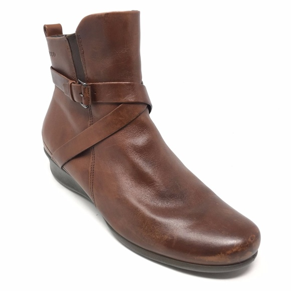 1b5e53a6163 Women's Ecco Ankle Boots Booties Sz 40 EU/9-9.5 US